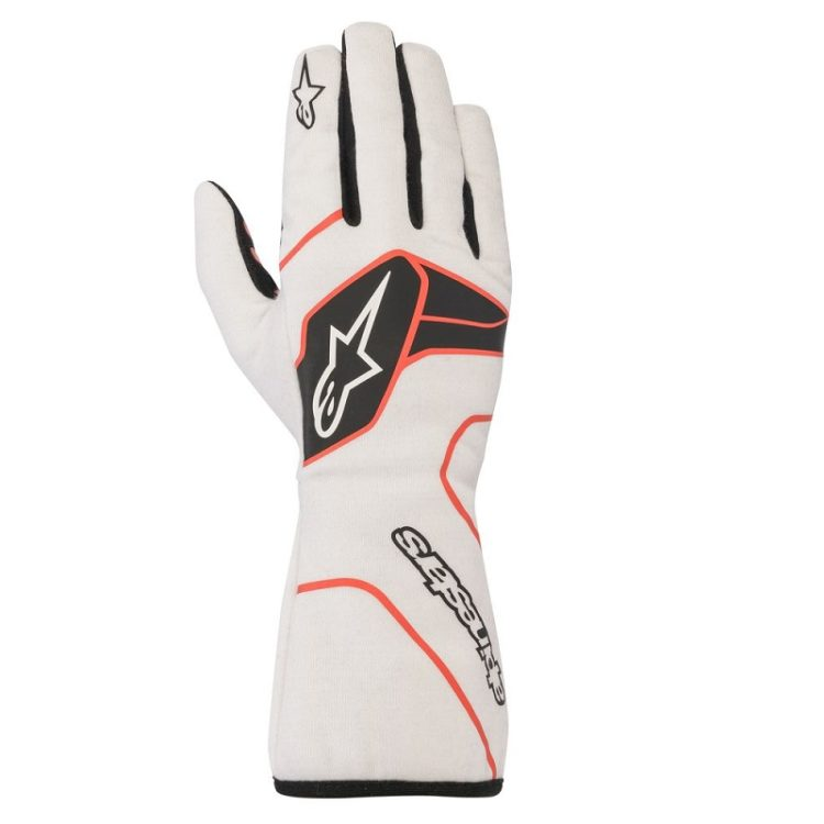 Alpinestars Tech-1 Race Wit-Rood