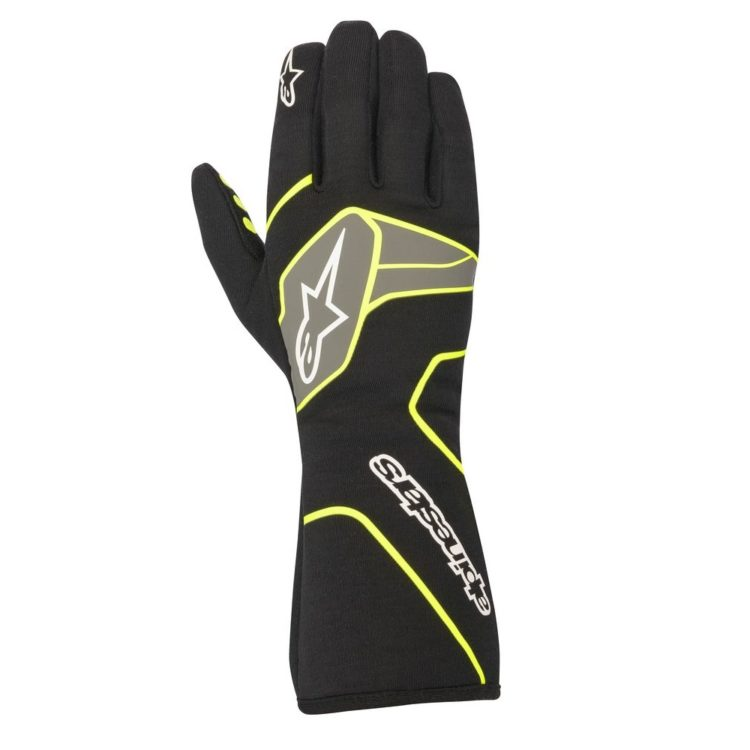 Alpinestars Tech-1 Race Zwart-Geel
