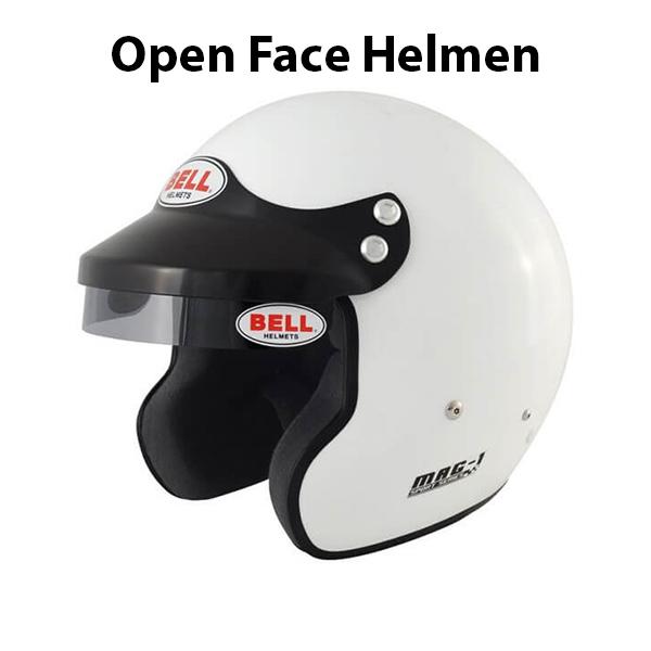 Helmen Open Face