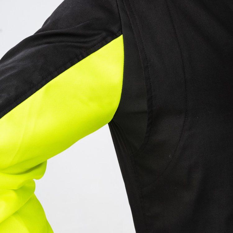 Sparco Rookie Zwart Geel Arm